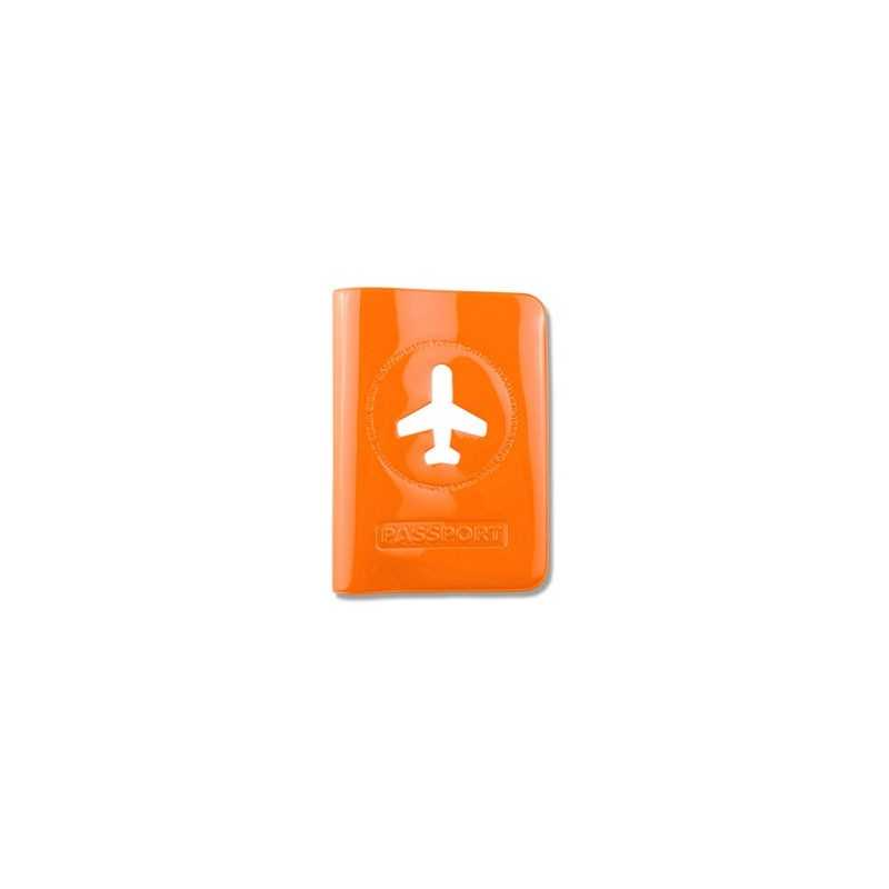 Prot ge passeport fluo orange les prot ges passeports for Mely marmelade
