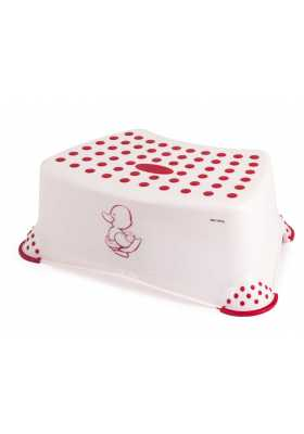 Tabouret-Marche-Pied-Little-Duck-Rose-Lulabi