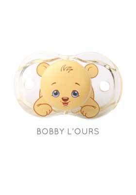 Tétine Hygiénique Razbaby Bobby l'Ourson