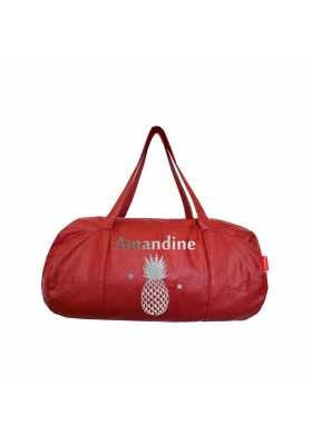 Sac Polochon Personnalisable - Rouge